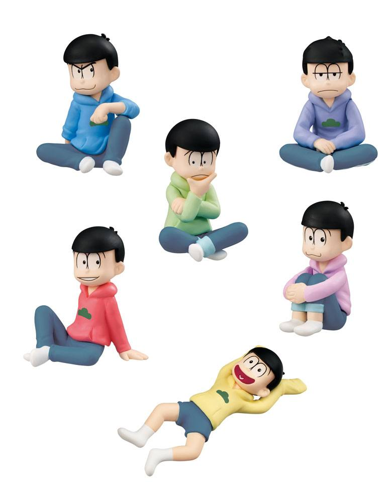 Osomatsu-san Palmate Mini Figures 5 cm Assortment (6)