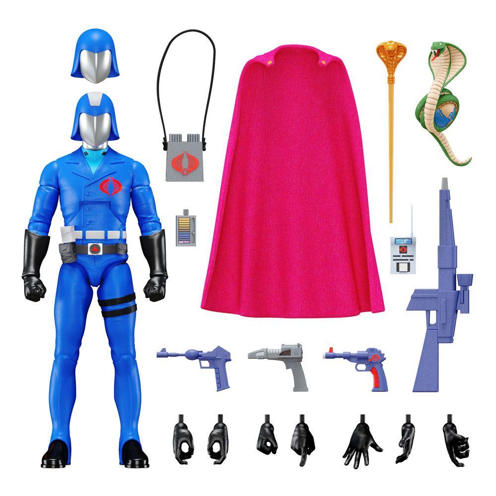G.I. Joe Ultimates Action Figure Cobra Commander 18 cm