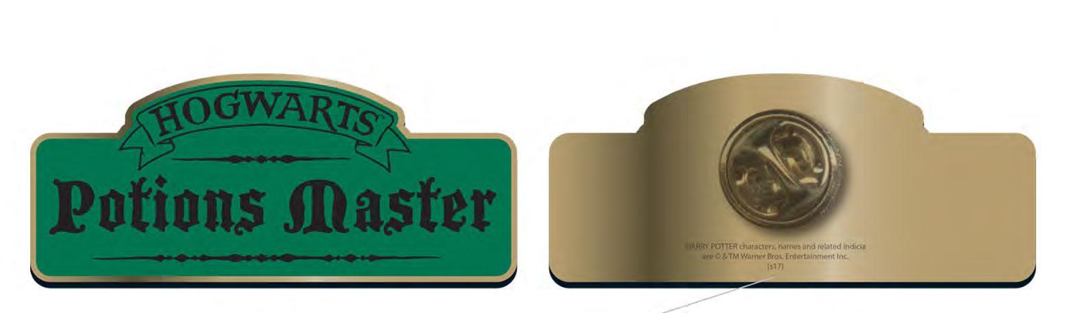 Harry Potter Badge Potions Master Case (12)