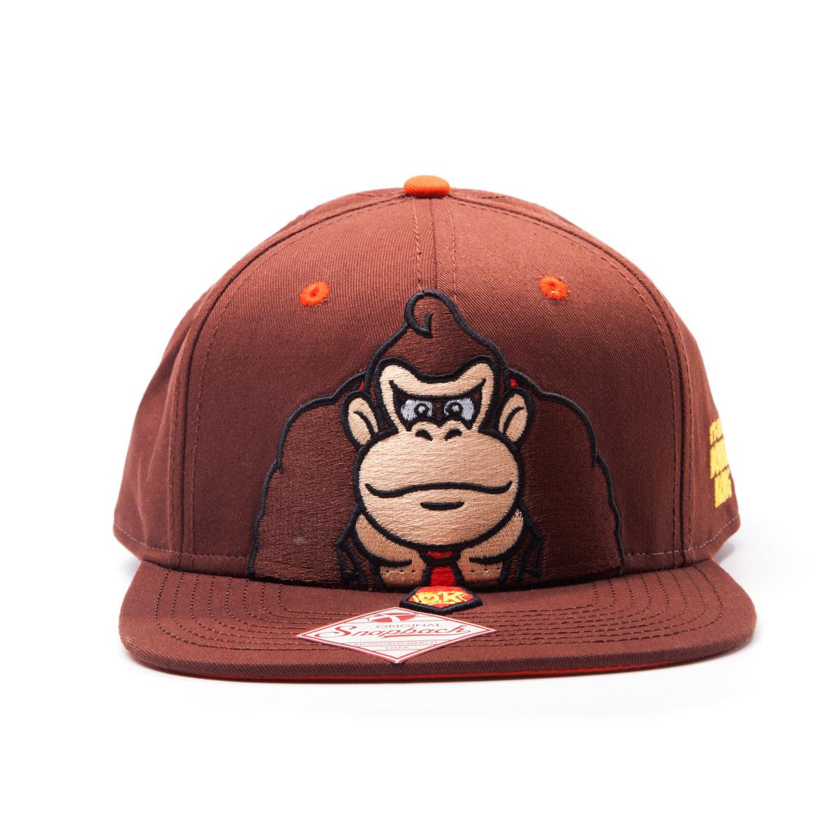 Bioworld Nintendo Donkey Kong, Brown Snap Back (SB201437NTN)