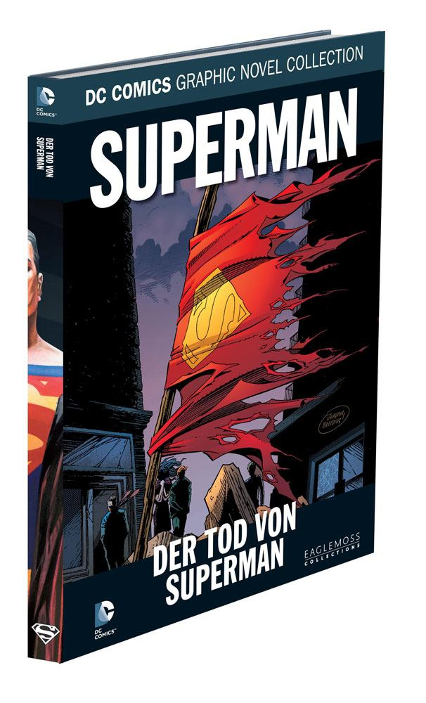 DC Comics Graphic Novel Collection Superman: Der Tod Von Superman Case (12) *German Version*