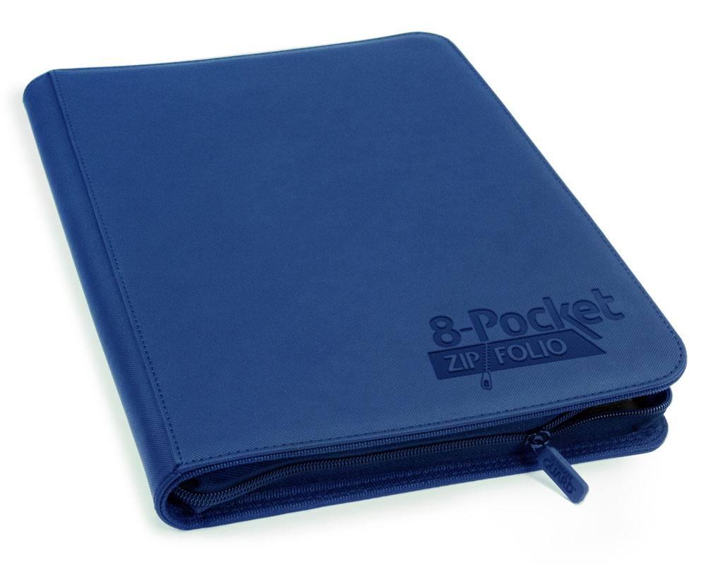Ultimate Guard 8-Pocket ZipFolio XenoSkin Dark Blue