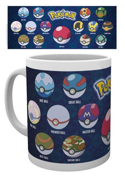 Pokemon Mug Ball Varieties