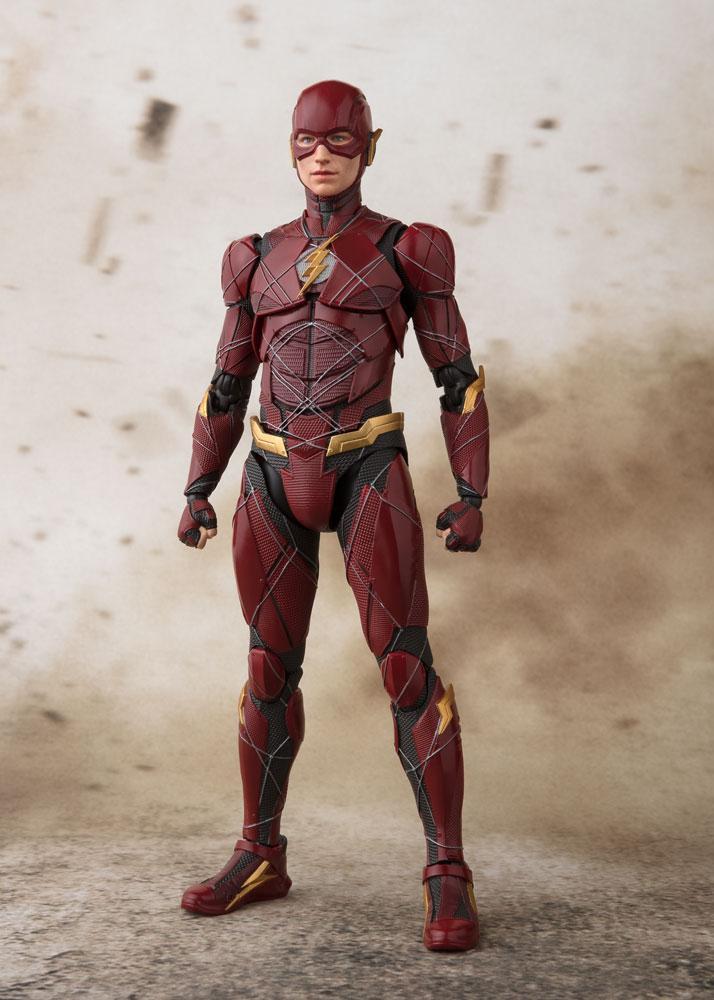 Justice League S.H. Figuarts Action Figure Flash Tamashii Web Exclusive 15 cm