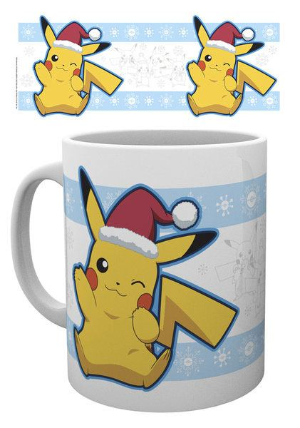 Pokemon Mug Pikachu Santa