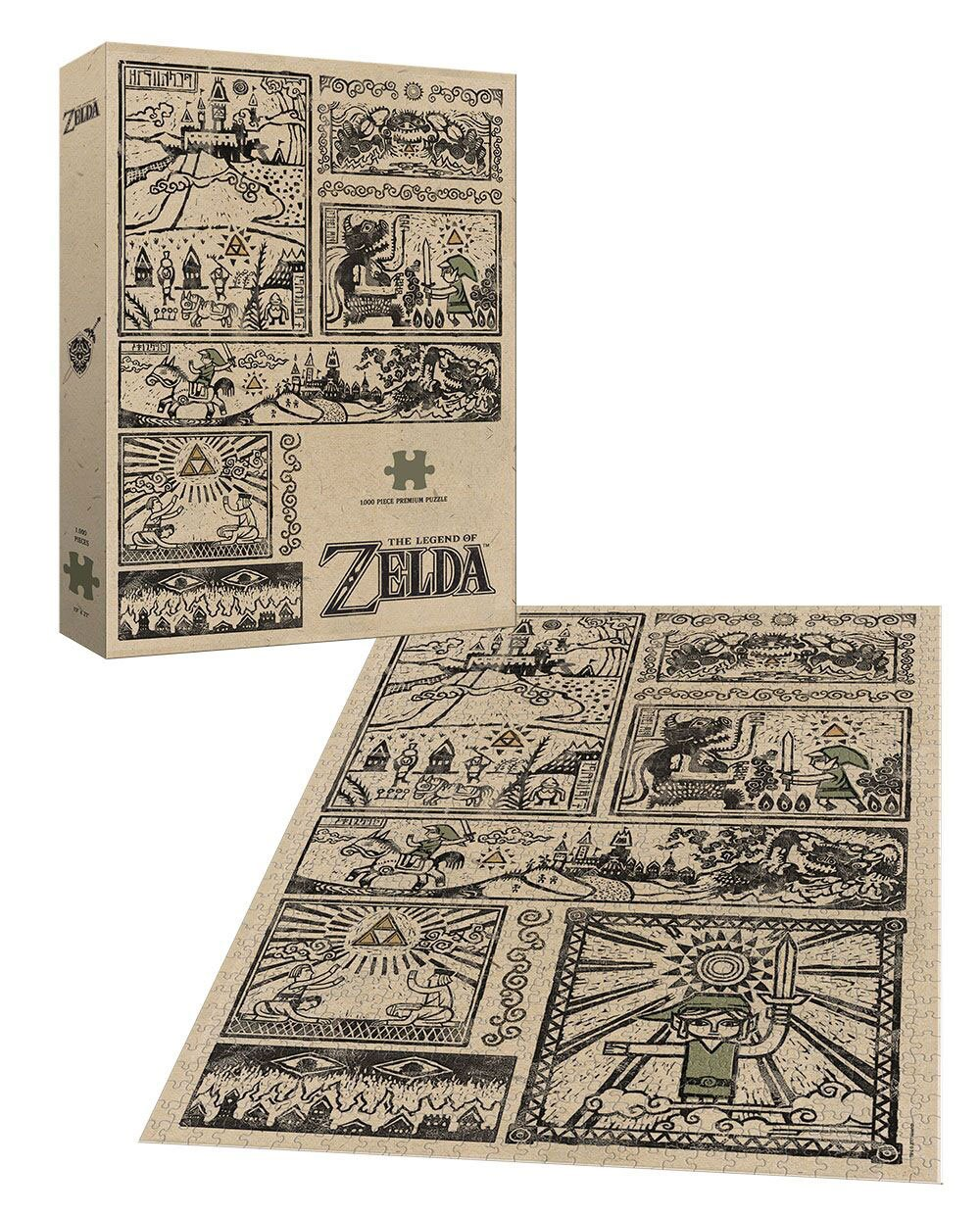 Legend of Zelda Puzzle Legend of the Hero --- DAMAGED PACKAGING