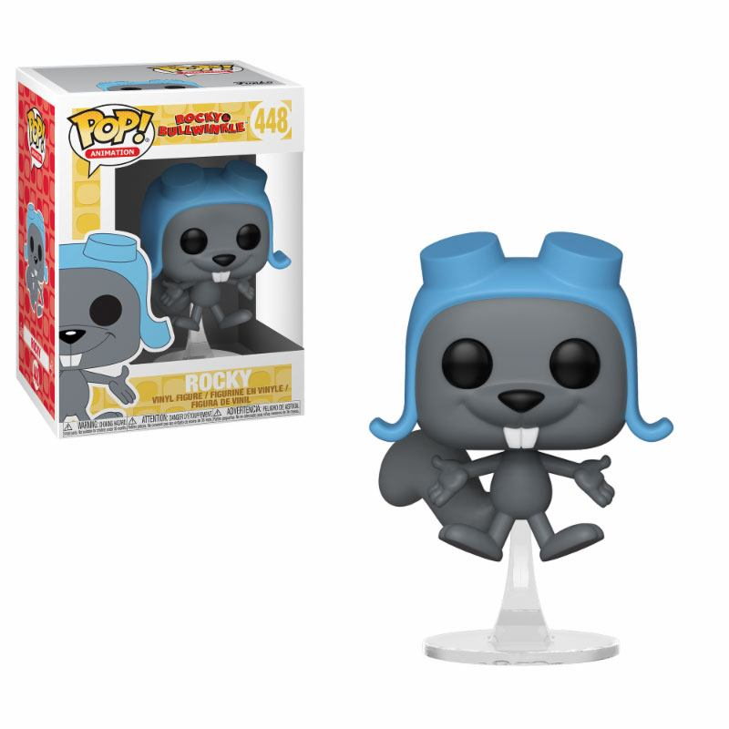 The Adventures of Rocky and Bullwinkle POP! Movies Vinyl Figure Flying Rocky 9 cm