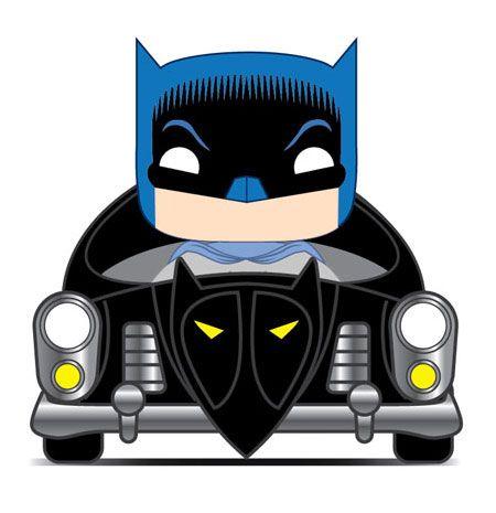 Batman 80th POP! Rides Vinyl Figure 1950 Batmobile 15 cm