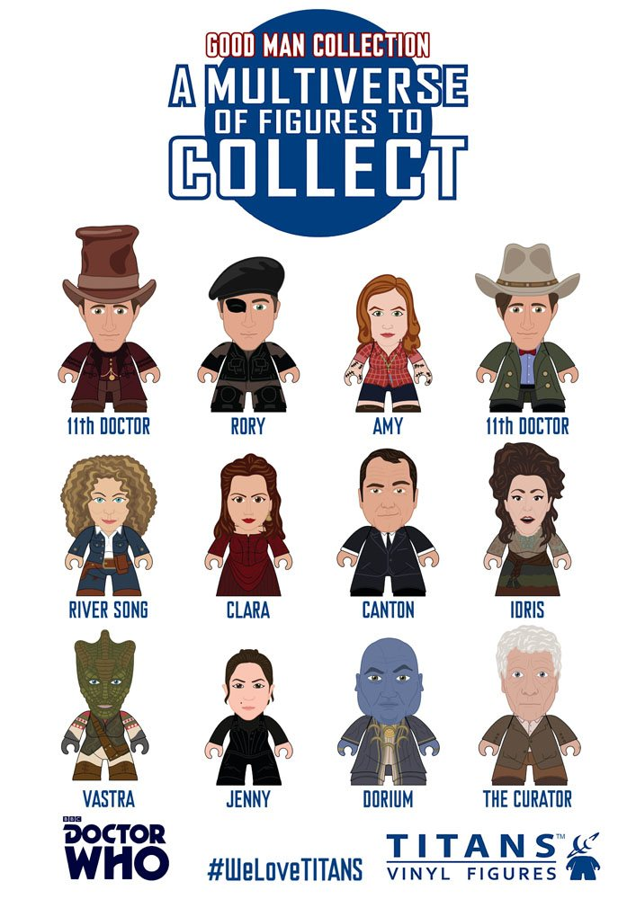 Doctor Who Trading Figure 11th Doctor The Good Man Collection Titans Display 8 cm (20)