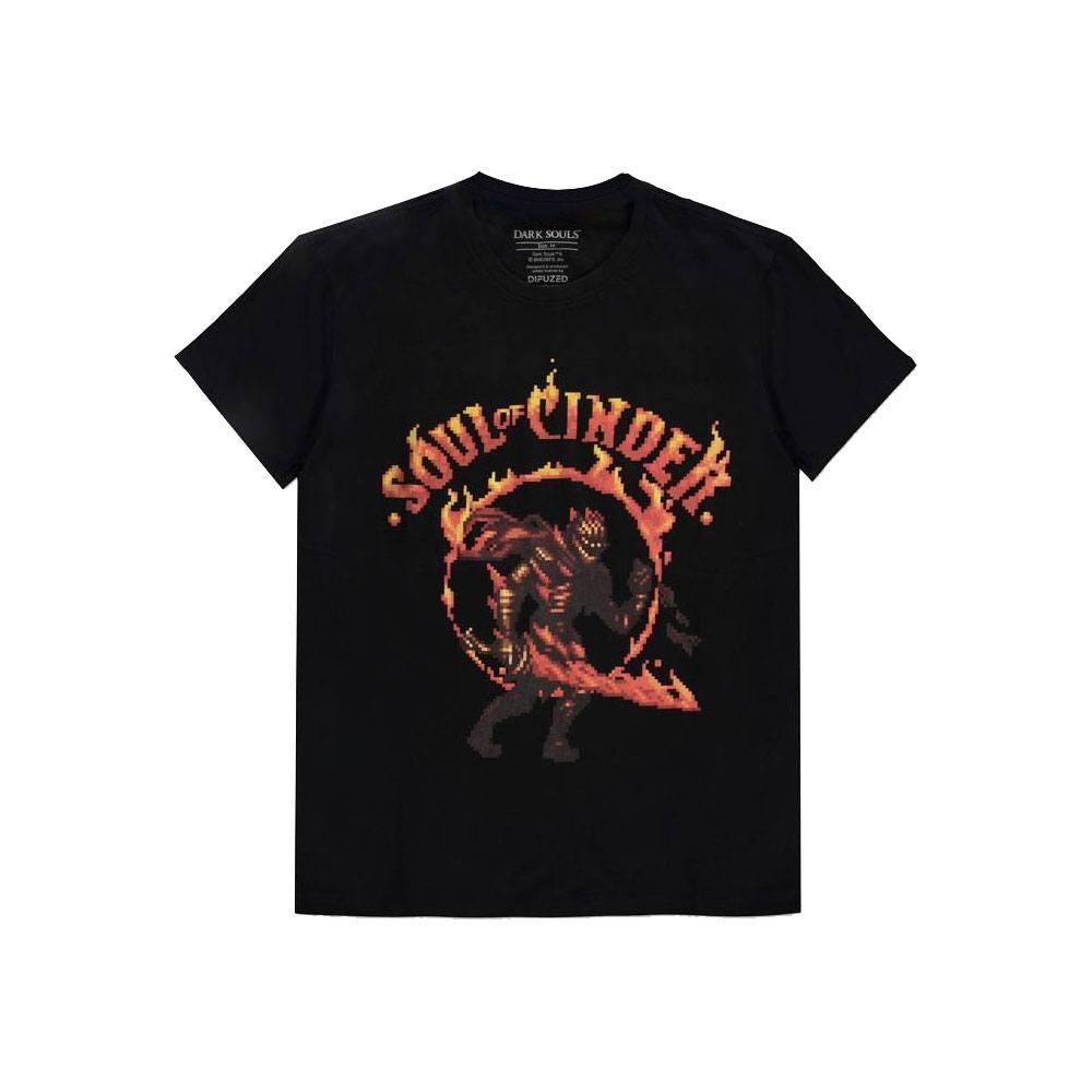 Dark Souls T-Shirt Soul Of Cinder Size L