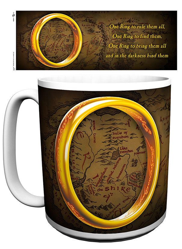 Lord of the Rings XL Mug One Ring
