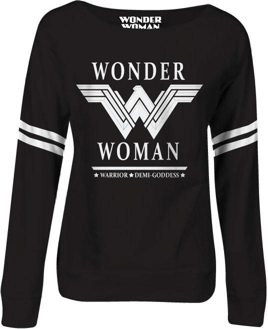 Wonder Woman Ladies Crewneck Sweatshirt Demi Goddess Size XL