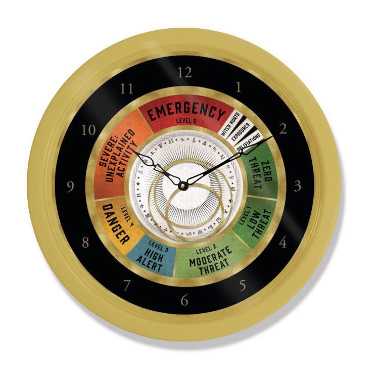 Wizarding World Wall Clock Emergency