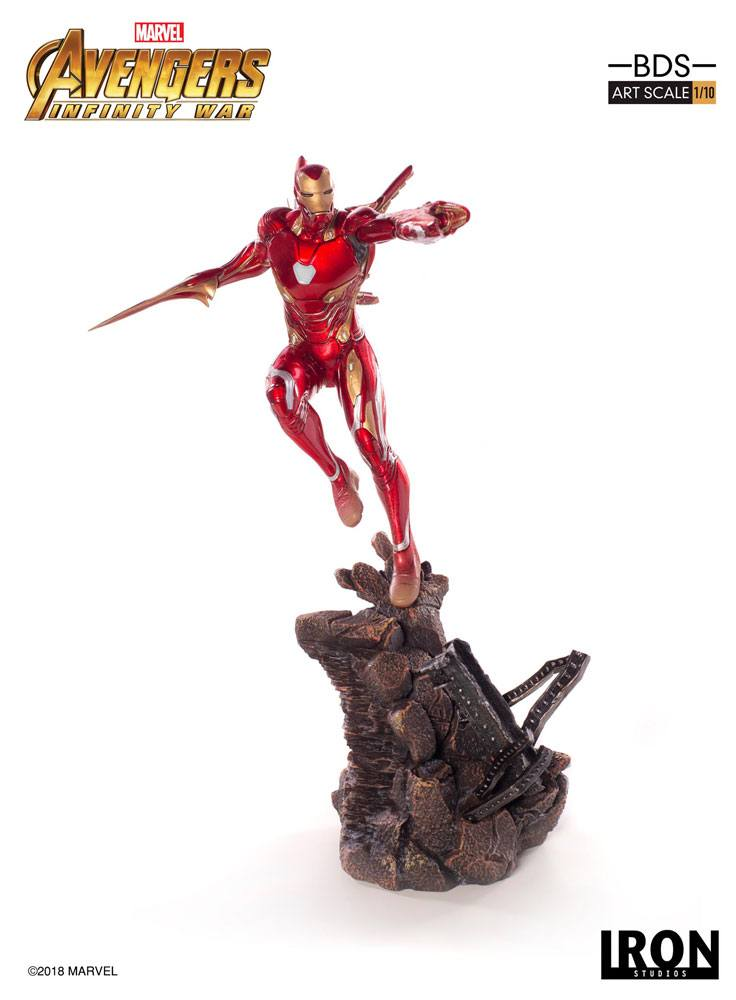 Avengers Infinity War BDS Art Scale Statue 1/10 Iron Man Mark L 31 cm