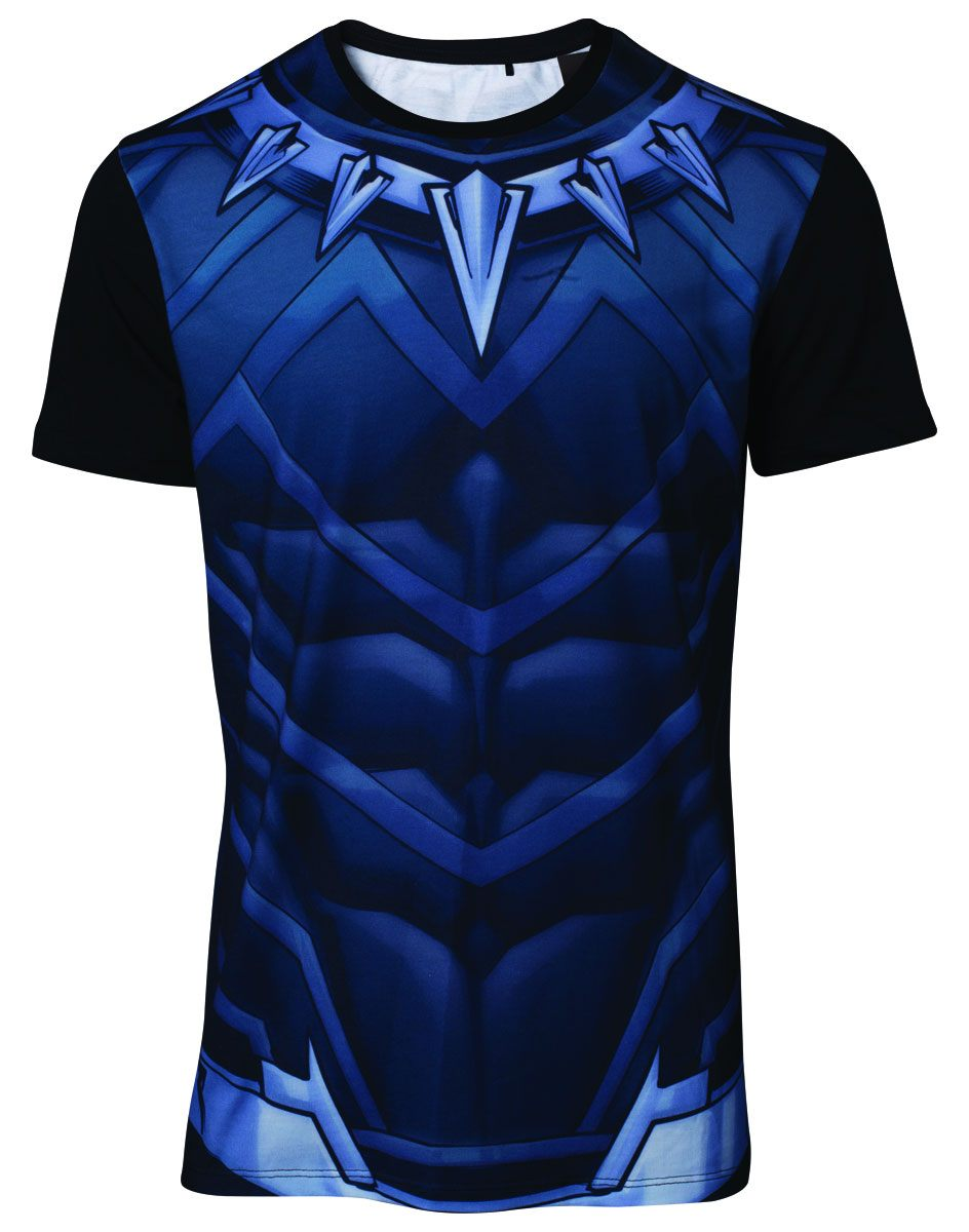 Black Panther Movie Sublimation T-Shirt Black Panther  Size XL