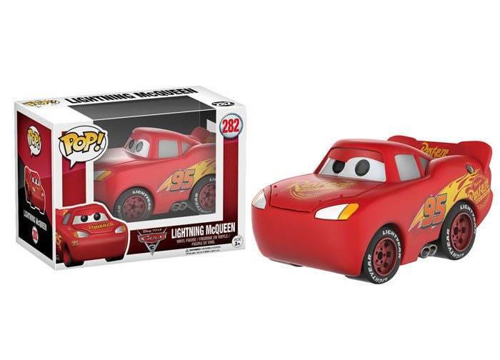 Cars 3 POP! Disney Vinyl Figure Lightning McQueen 9 cm