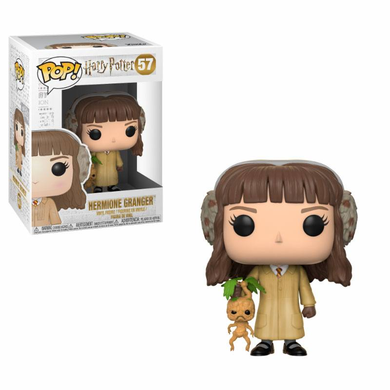Harry Potter POP! Movies Vinyl Figure Hermione Granger (Herbology) 9 cm