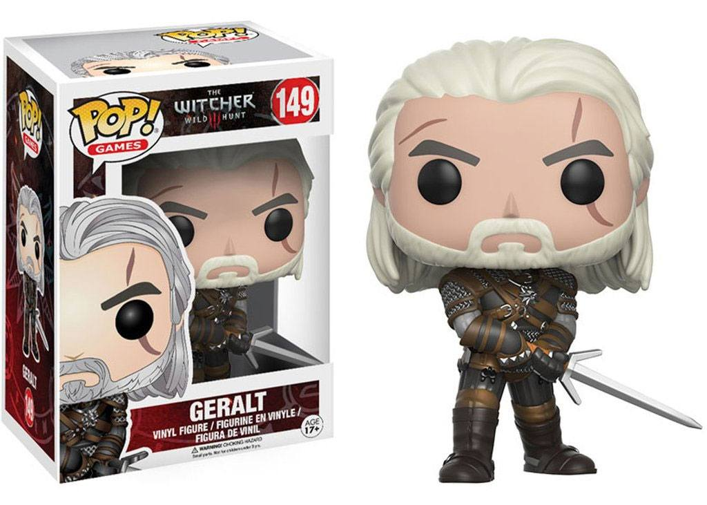 The Witcher POP! Games Vinyl Figure Geralt 9 cm