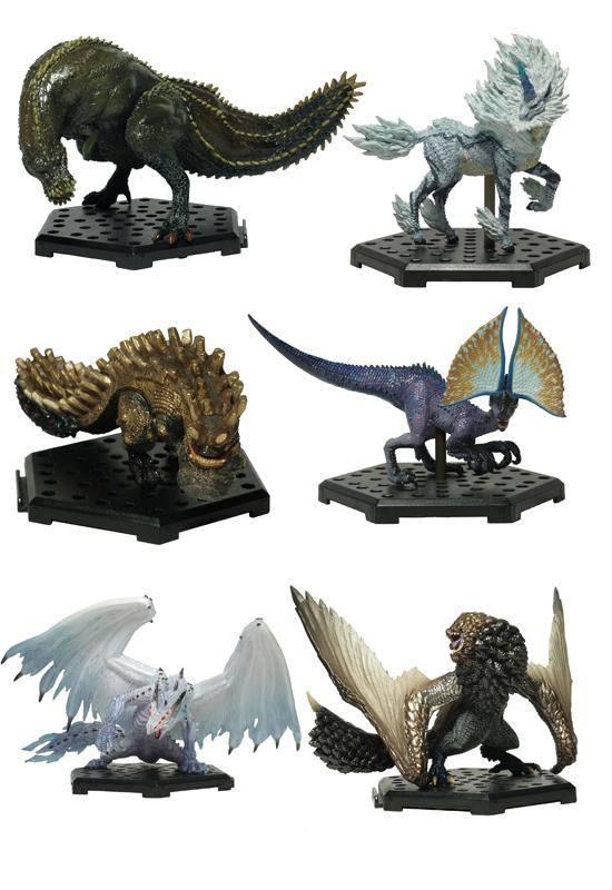 Monster Hunter Trading Figures 10 - 15 cm CFB MH Standard Model Plus Vol. 13 Assortment (6)