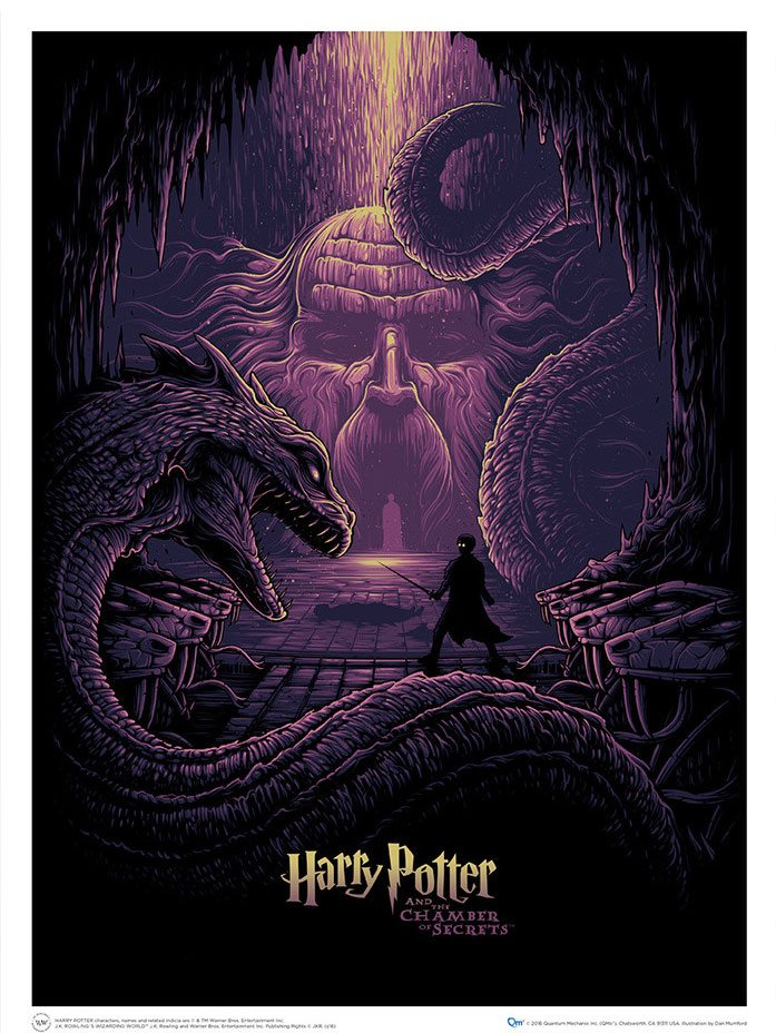 Harry Potter Art Print Harry Potter & the Eyes of the Basilisk 61 x 46 cm