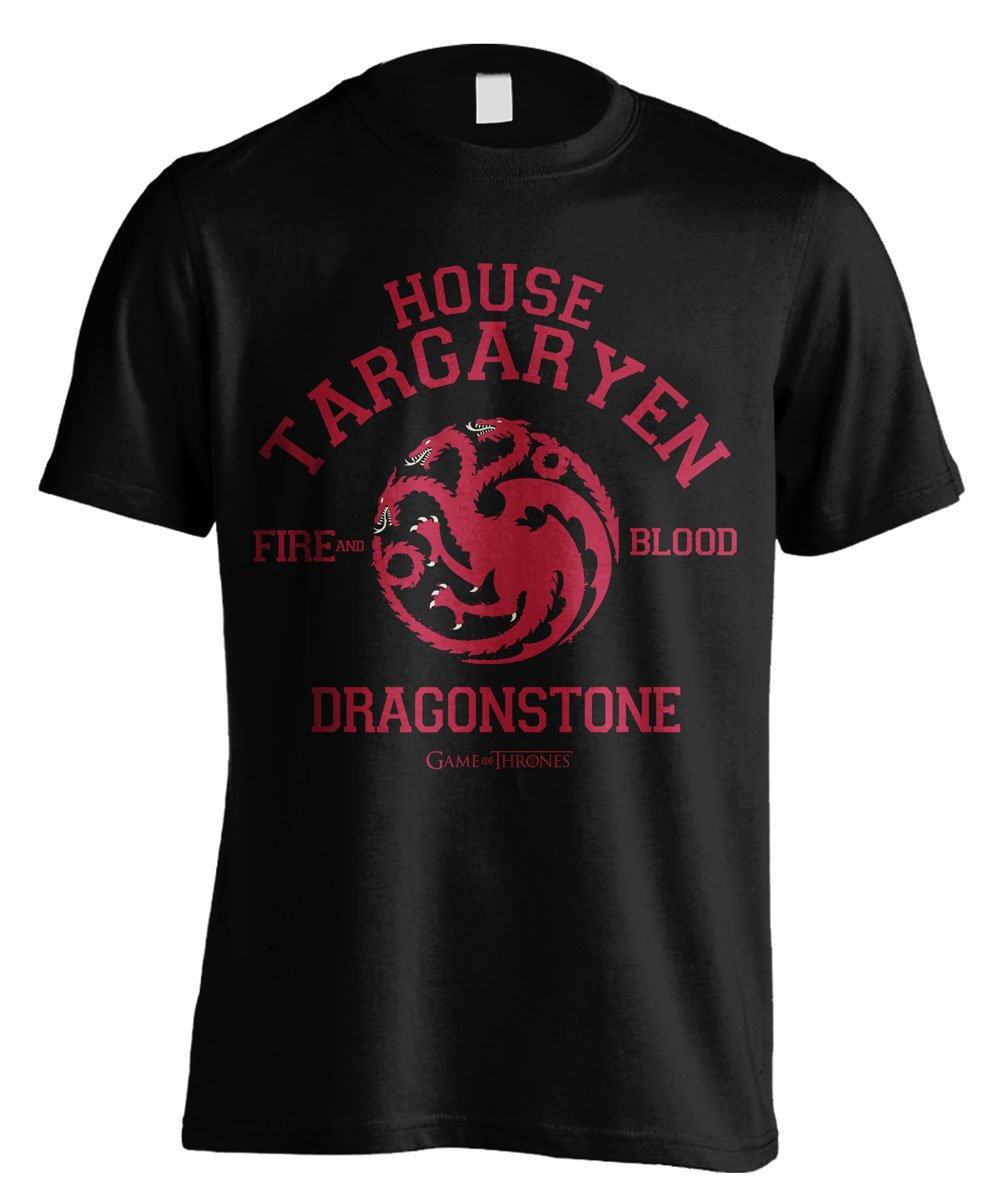 Game of Thrones T-Shirt Dragonstone Size L