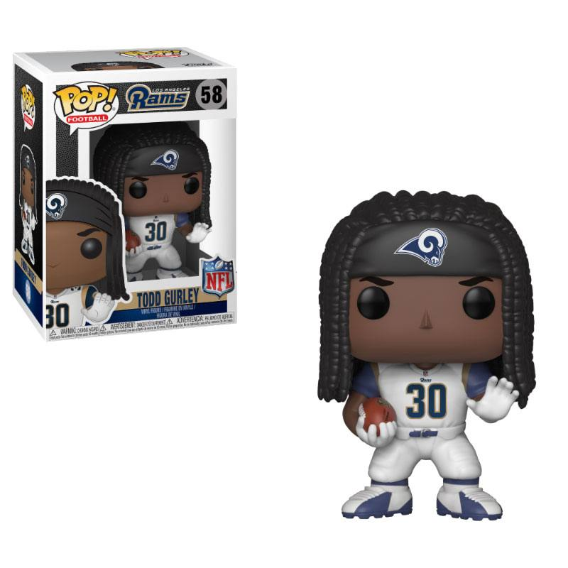 NFL POP! Football Vinyl Figure Todd Gurley (Rams) 9 cm