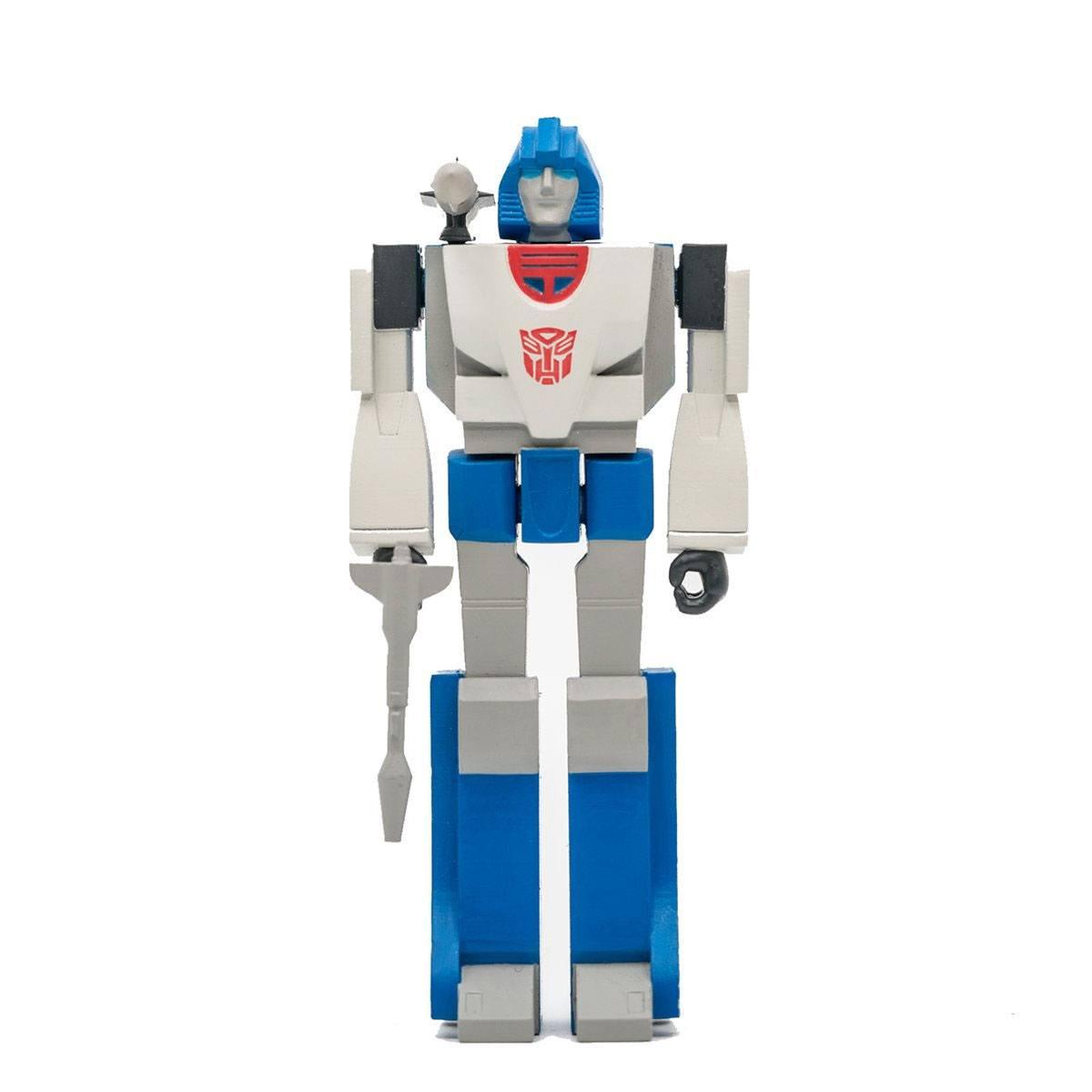 Transformers ReAction Action Figure Wave 2 Mirage 10 cm