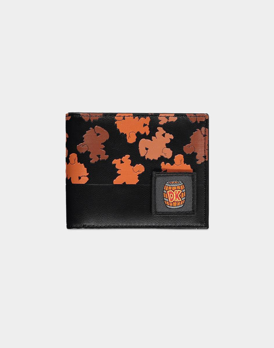 Nintendo Bifold Wallet Donkey Kong All Over Print