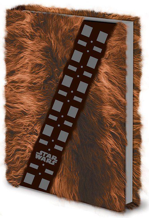 Star Wars Premium Notebook A5 Chewbacca Fur