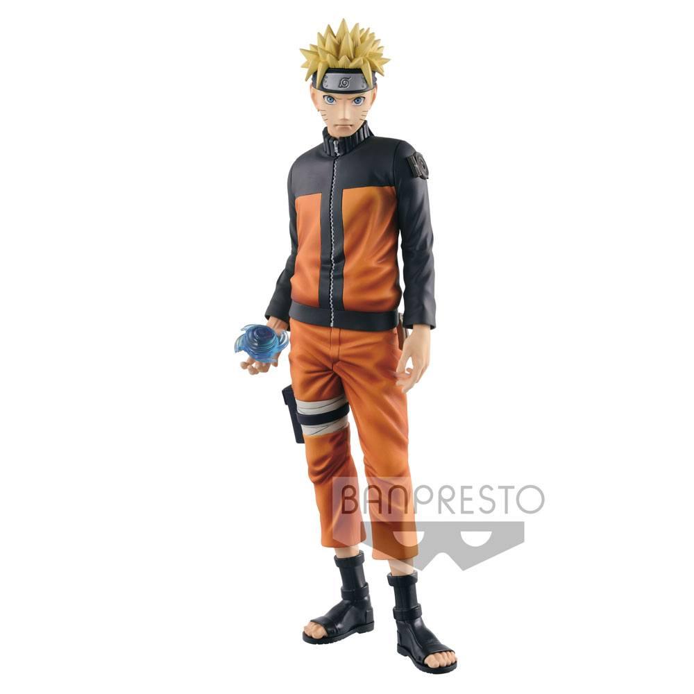 Naruto Shippuden Grandista Shinobi Relations Figure Uzumaki Naruto 27 cm