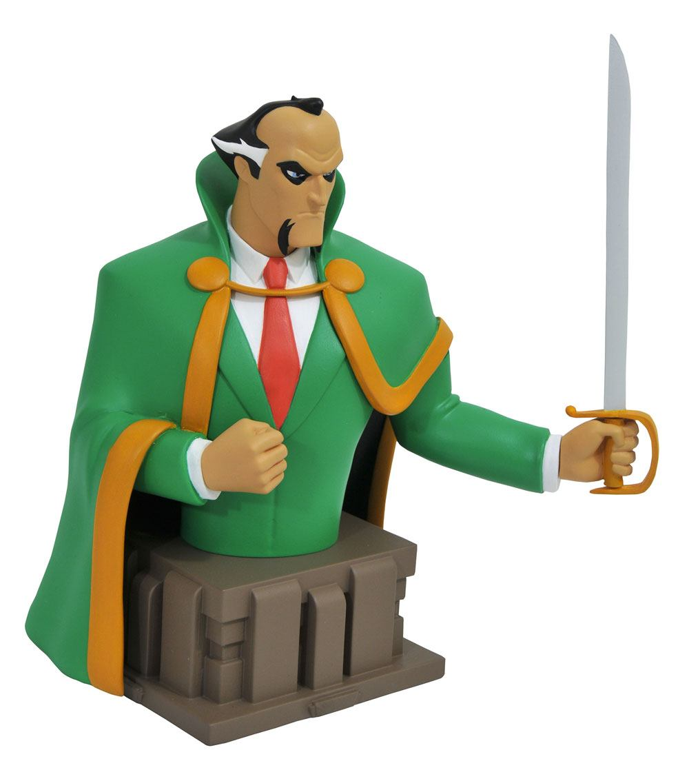 Batman The Animated Series Bust Ra's Al Ghul 15 cm --- DAMAGED PACKAGING