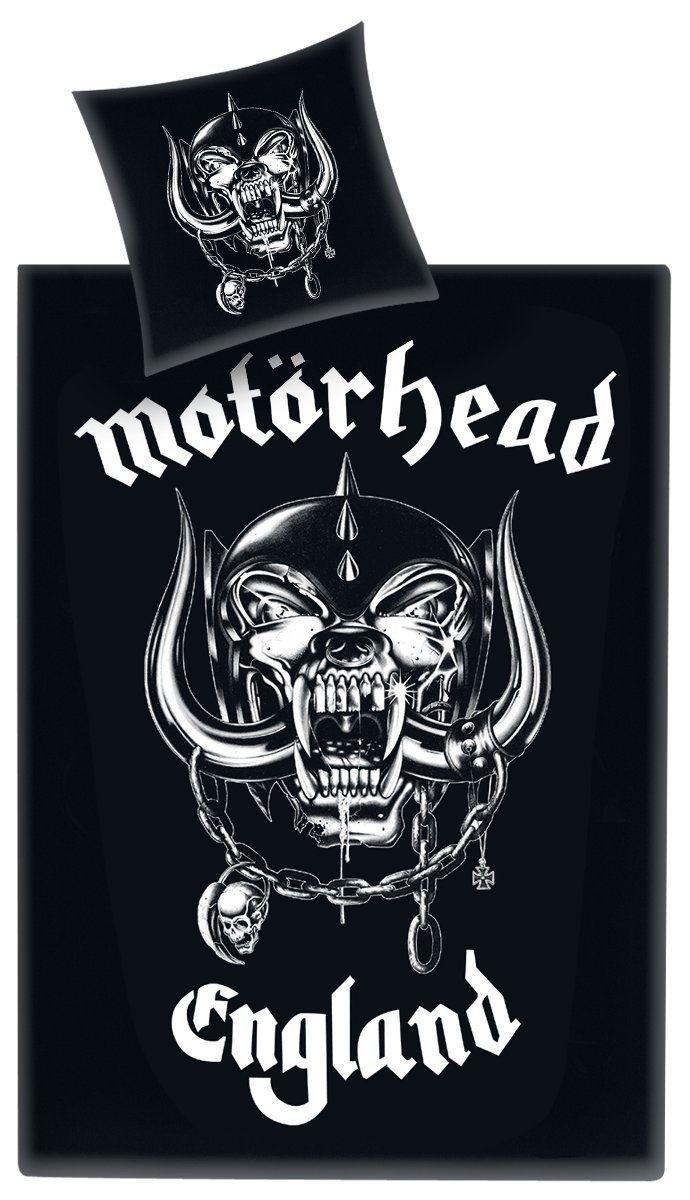 Motörhead Duvet Set Logo England 135 x 200 cm / 80 x 80 cm