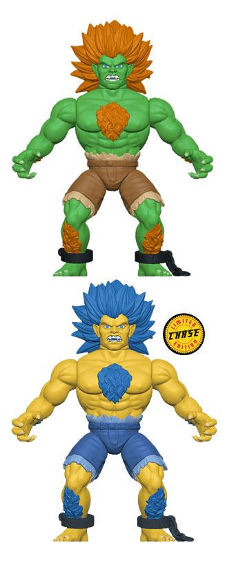 Street Fighter Savage World Action Figures Blanka 10 cm Assortment (6)