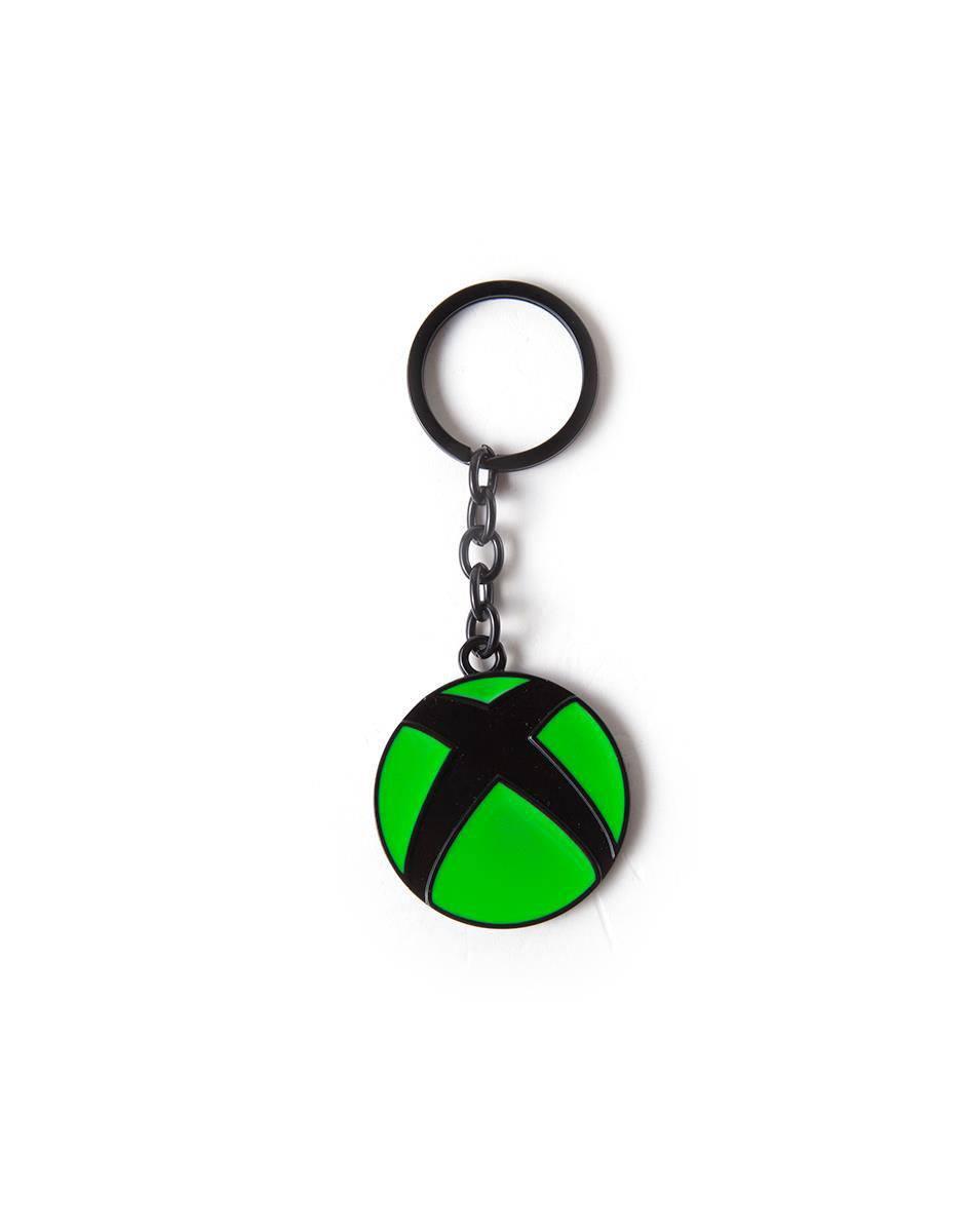XBox Metal Keychain Logo