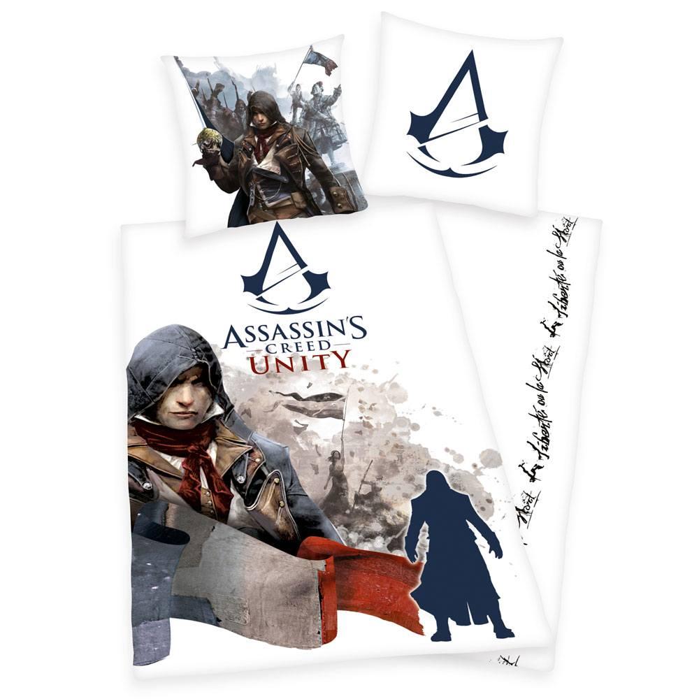 Assassin's Creed Unity Duvet Set 135 x 200 cm / 80 x 80 cm