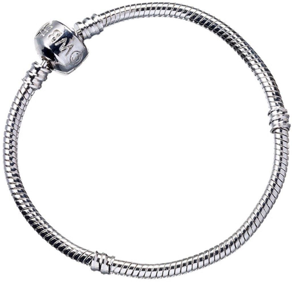 Harry Potter Slider Charm Bracelet (silver plated) Size M