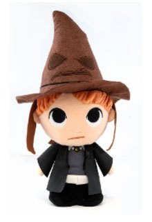 Harry Potter Super Cute Plush Figure Ron w/ Sorting Hat 18 cm