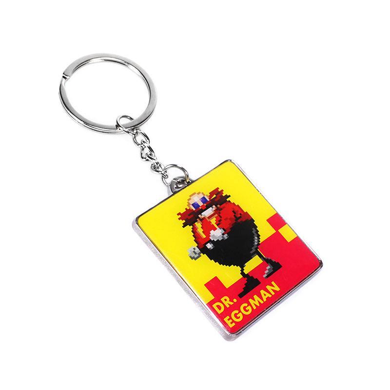 Sonic The Hedgehog Metal Keychain Eggman 7 cm