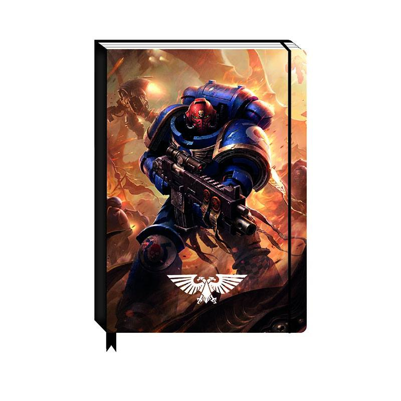 Warhammer 40k A5 Notebook Battle