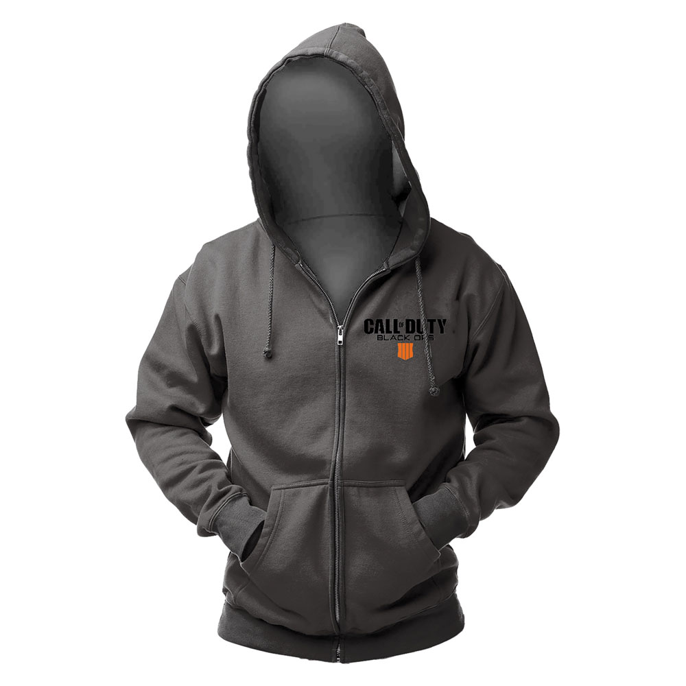 Call of Duty Black Ops 4 Hooded Sweater Patch Size M