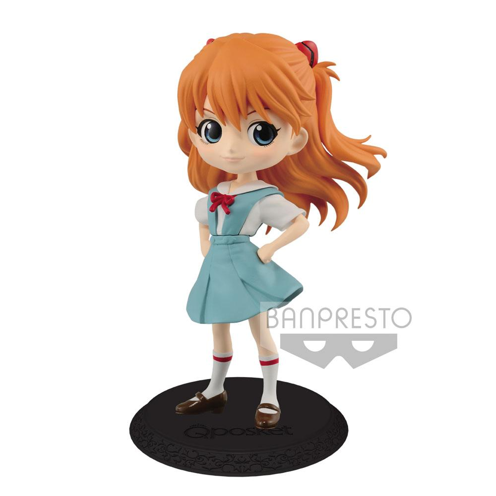 Evangelion Movie Q Posket Mini Figure Asuka Langley Ver. B 14 cm