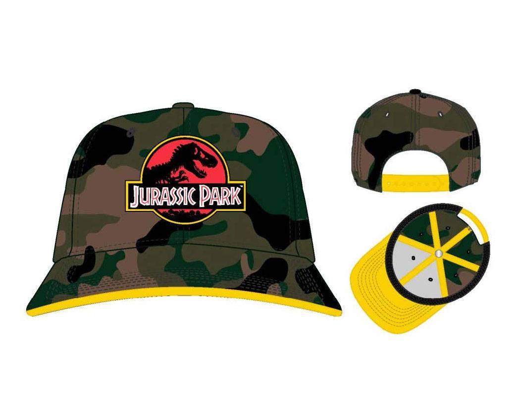 Jurassic Park Baseball Cap Logo Camo