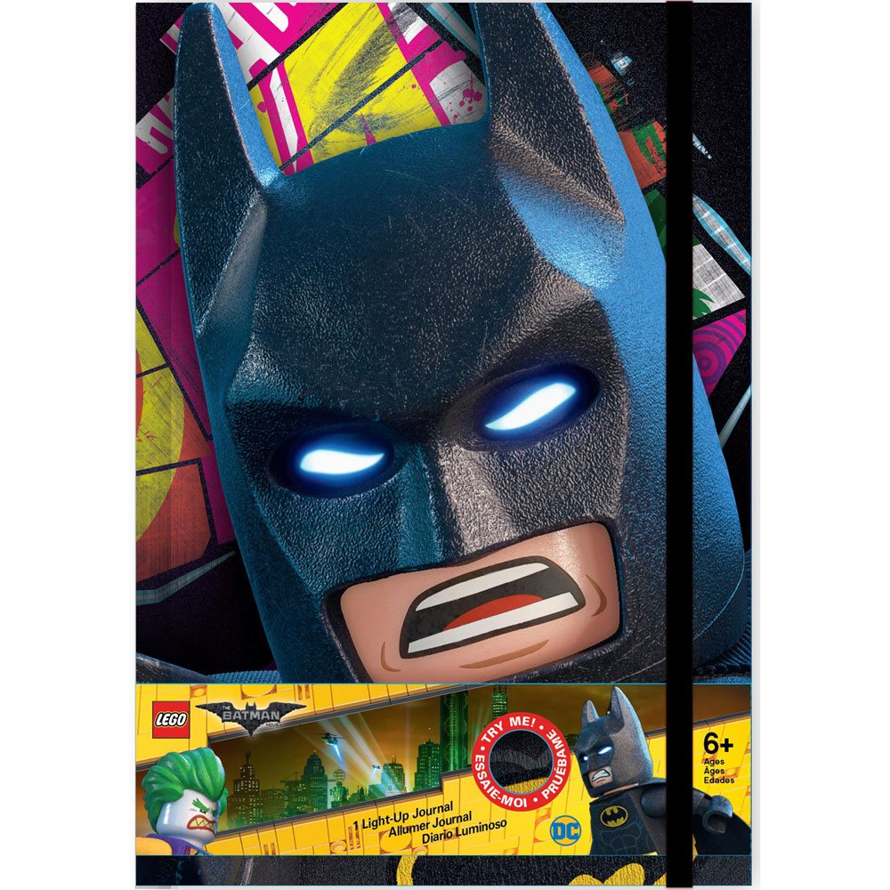 LEGO Batman Movie Notebook with Light