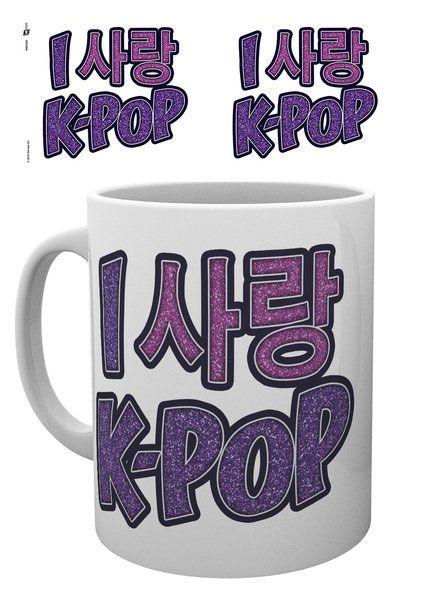 K-Pop Mug Love Hangul