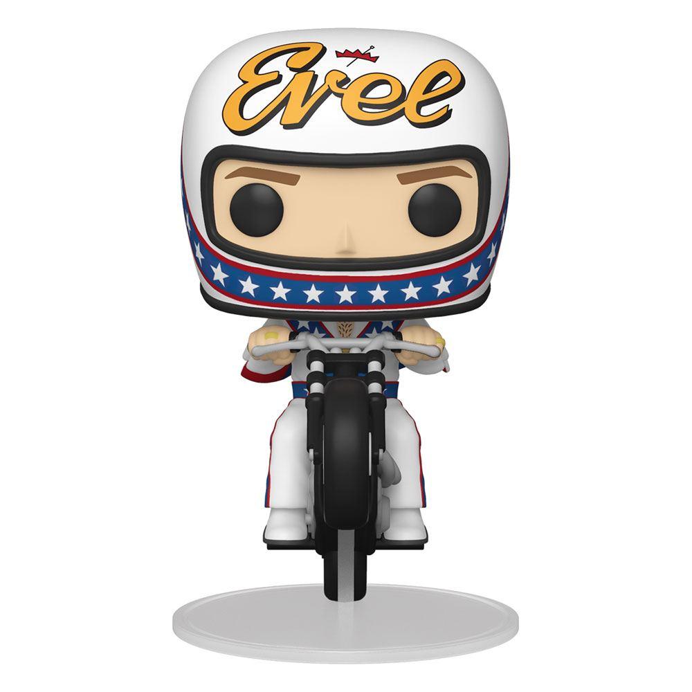 Evel Knievel POP! Rides Vinyl Figure Evel Knievel on Motorcycle 18 cm