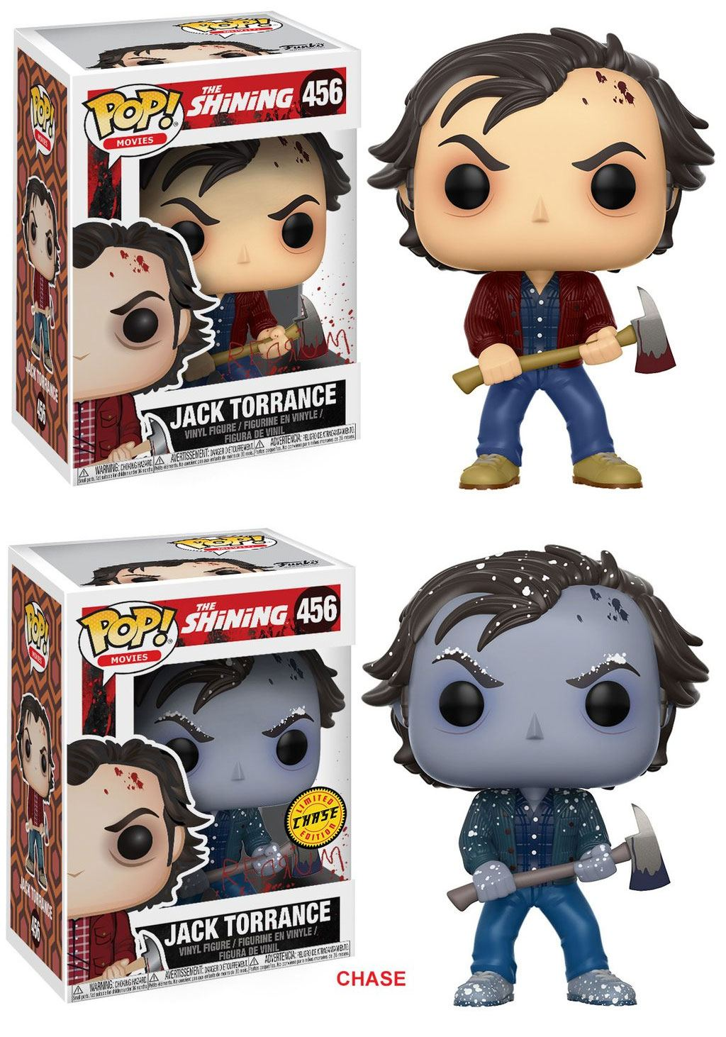 The Shining POP! Movies Figures Jack Torrance 9 cm Assortment (6)