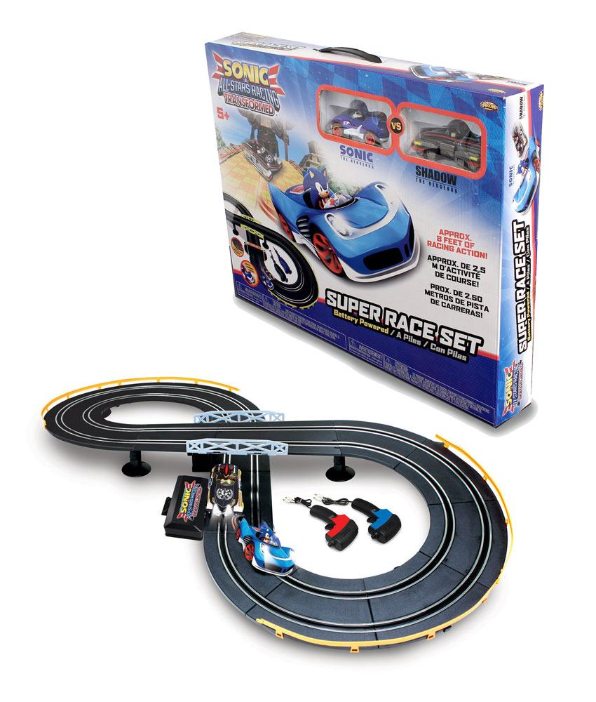 Sonic & All-Stars Racing Transformed Slot Car Race Set Sonic & Shadow
