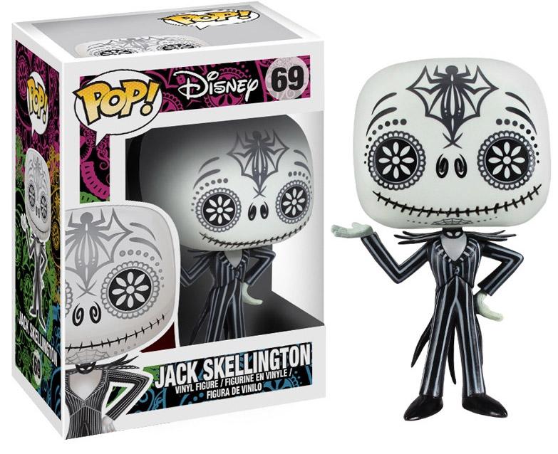Nightmare Before Christmas POP! Vinyl Figure Day of the Dead Jack Skellington 10 cm