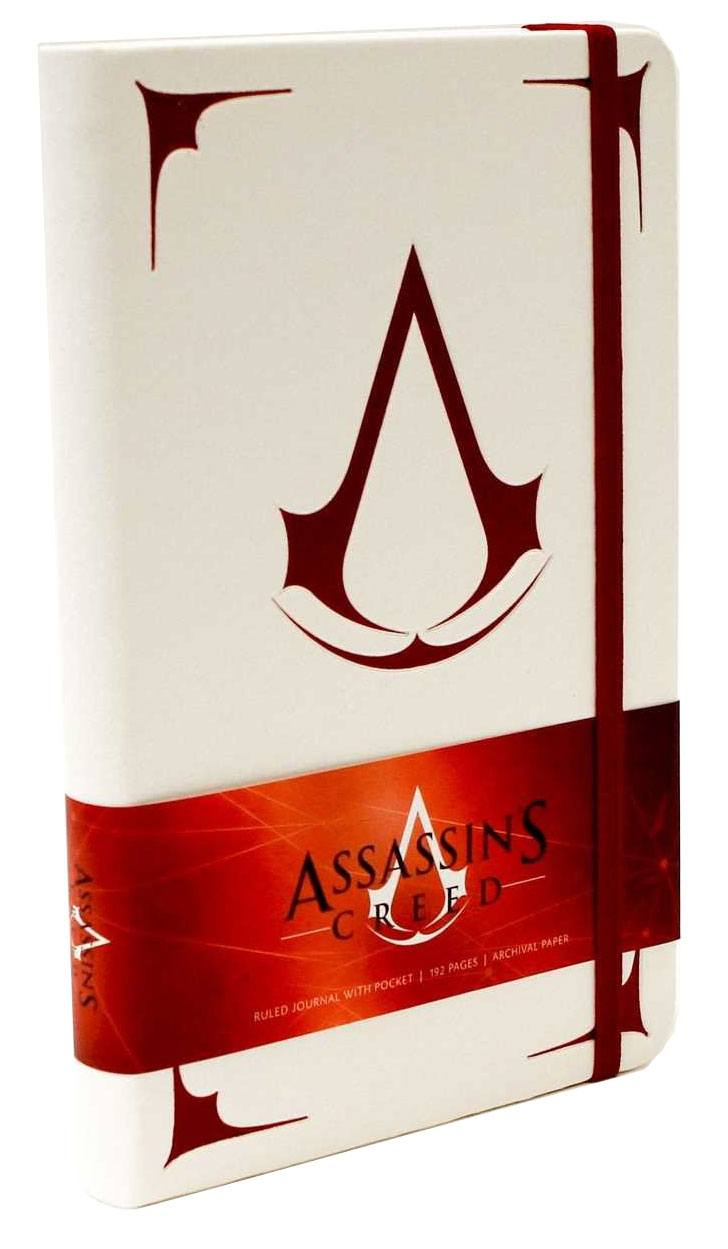 Assassin's Creed Hardcover Ruled Journal Logo