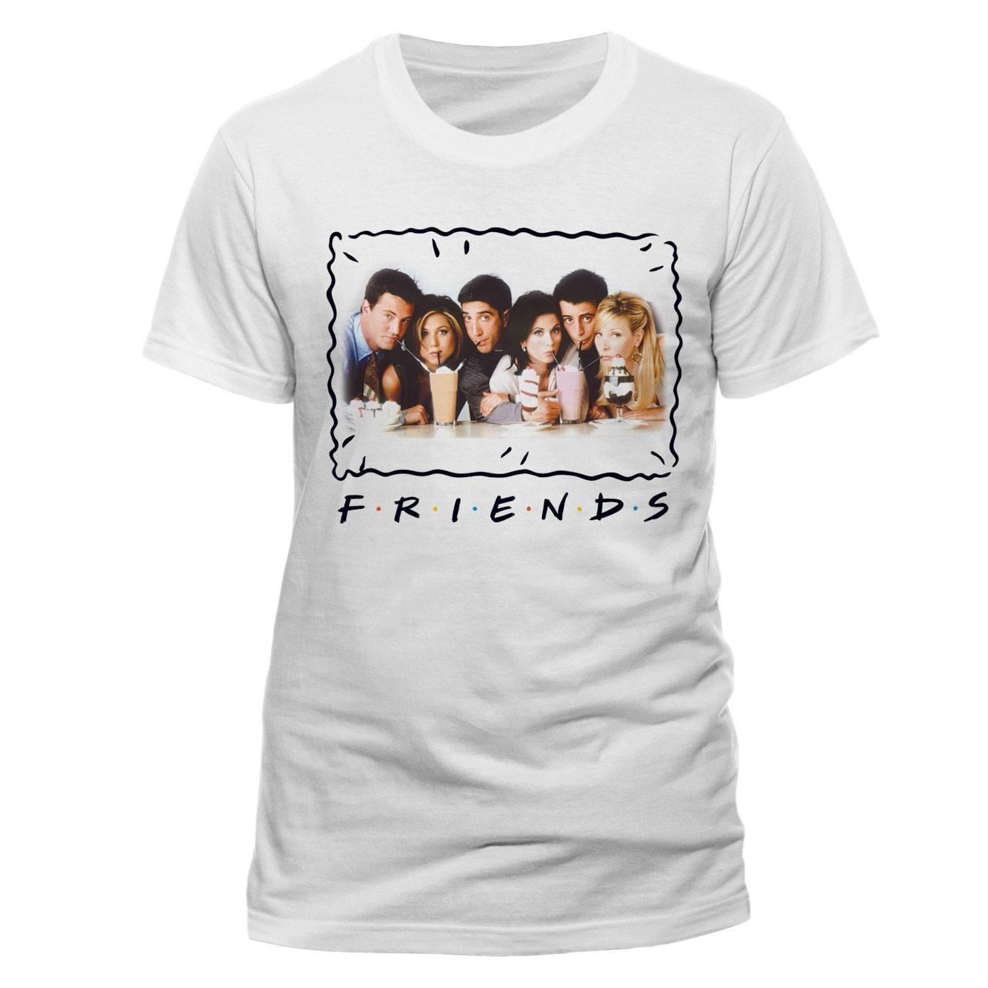 Friends T-Shirt Milkshake Size L